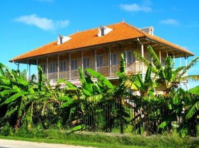 Belle villa avec palmiers