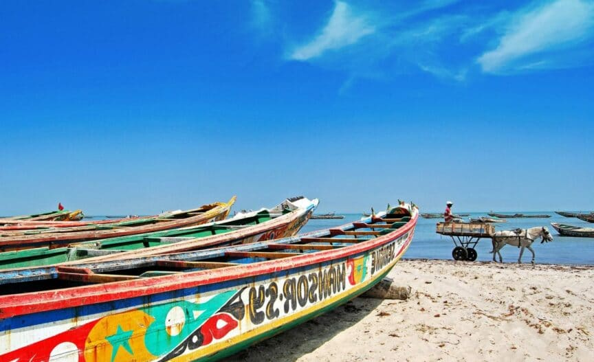 Bateau de pêche au Sénégal