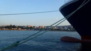 le bateau d'un armateur