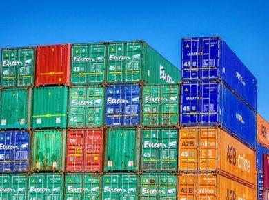 lot de conteneur pour la Guyane